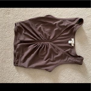 brown urban outfitters crop top